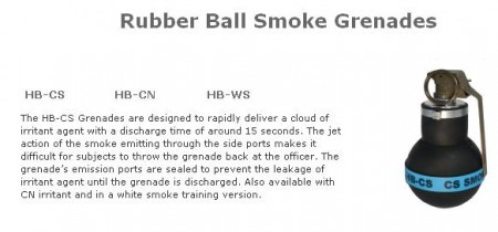 rubber ball grenade