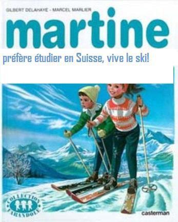 Martine part étudier en Suisse