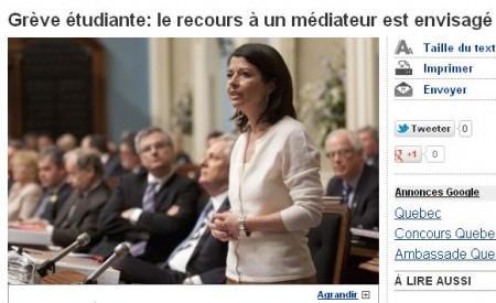 La Presse - mediation envisage