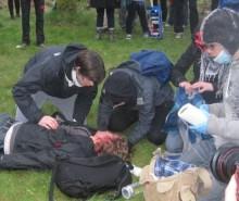 Manifestation à Victoriaville: un jeune entre la vie et la mort