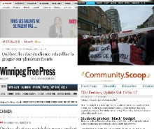 Grève étudiante: revue de presse internationale du 24 mai