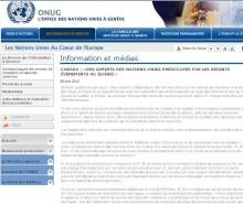 Grève étudiante: inquiétudes aux Nations Unies face à la situation au Québec