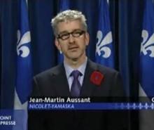 Jean-Martin Aussant: le Québec a tout à gagner à sortir du Canada