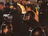 Le député Amir Khadir arrêté à une manifestation pacifique à Québec: ça suffit les abus policiers!