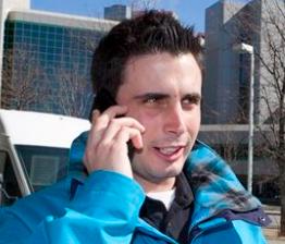 Laurent Proulx au cellulaire
