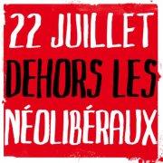 Manifestation nationale du 22 juillet 2012 : pas d'itinéraire