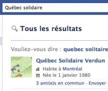 Vouliez-vous dire: Québec Solitaire?