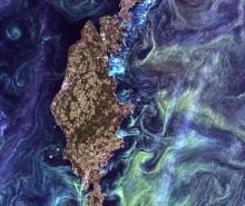 La Terre est un tableau artistique