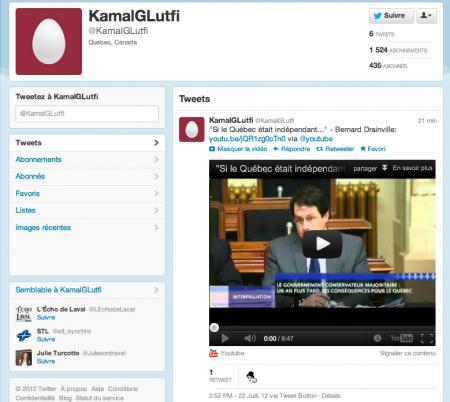 Kamal G. Lutfi, souverainiste?