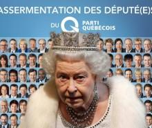 Assermentation royale des députés du PQ
