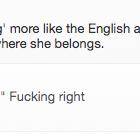 """""""Les anglais se réveillent, crissement vrai"""""""