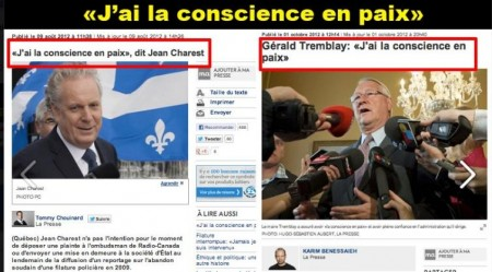 Tremblay a la conscience en paix
