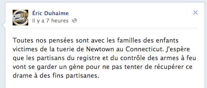 Éric Duhaime, première étape de propagande