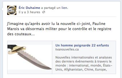 Éric Duhaime tente de prévoir le prochain geste de Pauline Marois