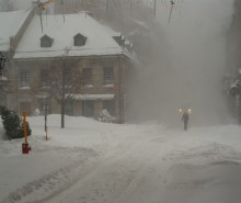 Tempête de neige: records de neige pour une tempête du siècle à Montréal!