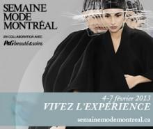 Semaine Mode Montréal automne-hiver 2013: du 4 au 7 février