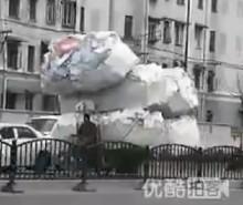 Insolite en Chine: Un scooter camion (Vidéo)