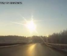 Vidéo : pluie de météorites en Russie