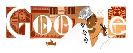 Miriam Makeba long Doodle
