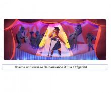 Ella Fitzgerald: Ella, elle l'avait, et Google le souligne avec un Doodle