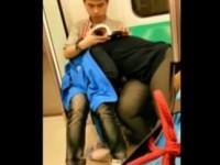 Petite vite dans le métro de Taiwan