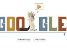 Maurice Sendak : Google souligne son 85ème anniversaire avec un Doodle