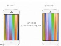iPhone 5S : un écran plus grand, mais même format que le iPhone 5