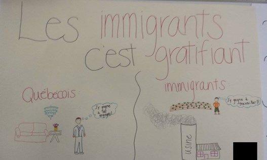 « Les immigrants c'est gratifiant »