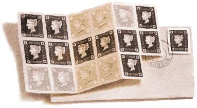 175e anniversaire du timbre-poste Penny Black
